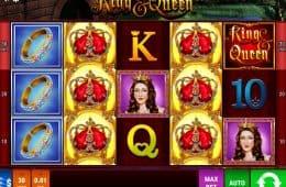Casino Online Spielautomat King & Queen
