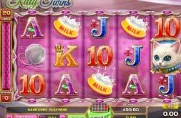 Bild aus dem Casino Online-Spielautomaten Kitty Twins