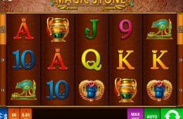 Magic Stone Online Spielautomat von Bally Wulff