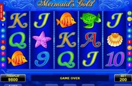 Casino Online-Spiel Mermaid's Gold