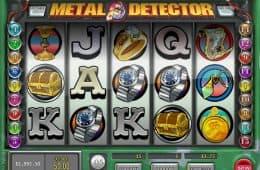 Online-Spielautomat Metal Detector ohne Download