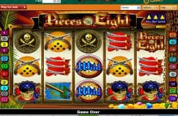 Bild des Online Casino-Spiels Pieces of Eight