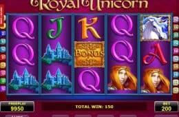 Spielen Sie kostenloses Spielautomat Spiel Royal Unicorn no deposit