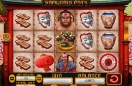 Casino-Spielautomat Samurai Weg ohne Einzahlung