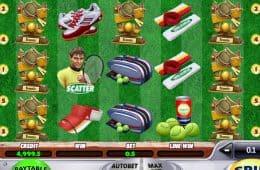 Free Spielautomat für Spaß Tennis-Meister
