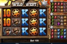 Wild West Online-Slot von Mazooma