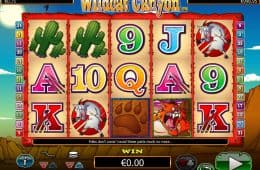Online-Spielautomat Wildcat Canyon zum Spaß