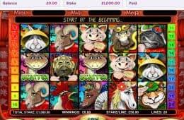 Keine Kaution Spielautomat Jahr des Drachen kostenlos
