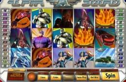 Online Spielautomat Alfha Squad von Saucify
