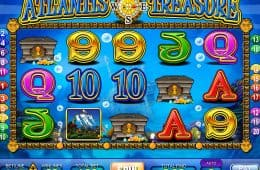 Online Casino Slot-Spiel Atlantis Treasure