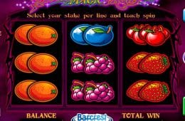 Kostenloses Casino-Spiel Black Magic Fruits Online-Slot