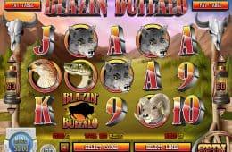 Spielen Blazin' Buffalo Spielautomat zum Spaß