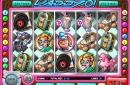 Doo-Wop-Daddy-O! kostenloser Online-Spielautomat