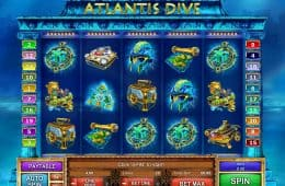Atlantis Dive Online Casino Slot