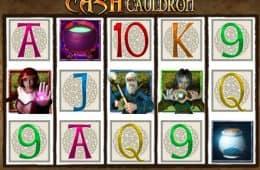 Spielen Sie kostenlos Casino Slot-Spiel Cash Cauldron