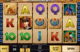 Daring Dave and The Eye of Ra Slot von Playtech