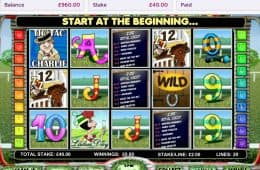 Online-Slot Day at the Races von OpenBet