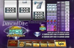 Online Slot-Spiel Diamond Dare Bonus Bucks