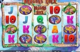 Spielen Sie gratis Dragons Rock Spielautomat