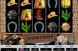 Fandango's Online Casino-Spiel