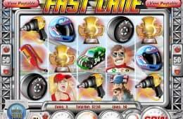 Spielen Sie Fast Lane Slot kostenlos ohne Einzahlungen