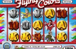 Kostenloser Online-Slot Flying Colors