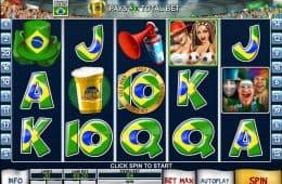 Spielen Sie Online Slot-Spiel Football Fans