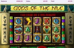 Bild vom Casino-Slot Gods of the Nile