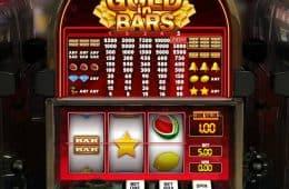 Spielen Sie Casino Spielautomat Gold in Bars von GamesOS