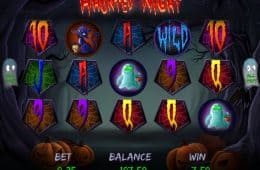 Online-Spielautomat Haunted Night