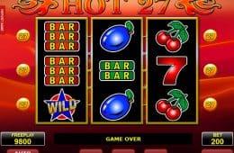 Spielen Sie Casino Slot-Spiel Hot 27 kostenlos online