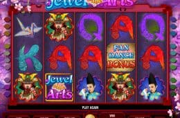 Ein Bild des Spielautomaten Jewel of the Arts