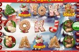 Spielautomat Jolly Gingerbread gratis spielen