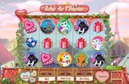 Jour de l'Amour Online Casino-Spiel von GamesOS