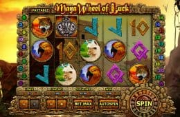 Maya Wheel of Luck Online-Slot