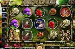 Ein Bild des kostenlosen Spielautomaten Nordic Heroes