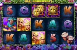 Kostenlos Spielautomat Oba, Carnaval! zum Spaß spielen