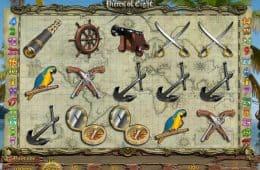 Kostenloses Casino-Spiel Pieces of Eight