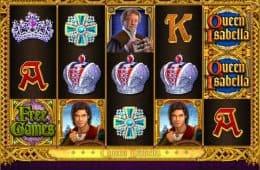 Ein Bild des kostenlosen Slot-Spiels Queen Isabella