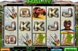 Bild vom gratis Spielautomaten Rally