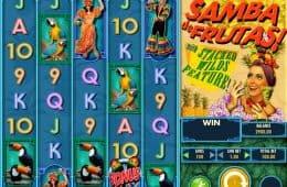 Ohne Einzahlungen Samba de Frutas! Online-Slot spielen
