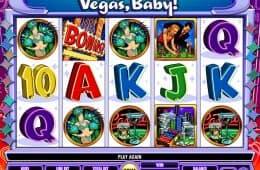Online Spielautomat Vegas, Baby! zum Spaß