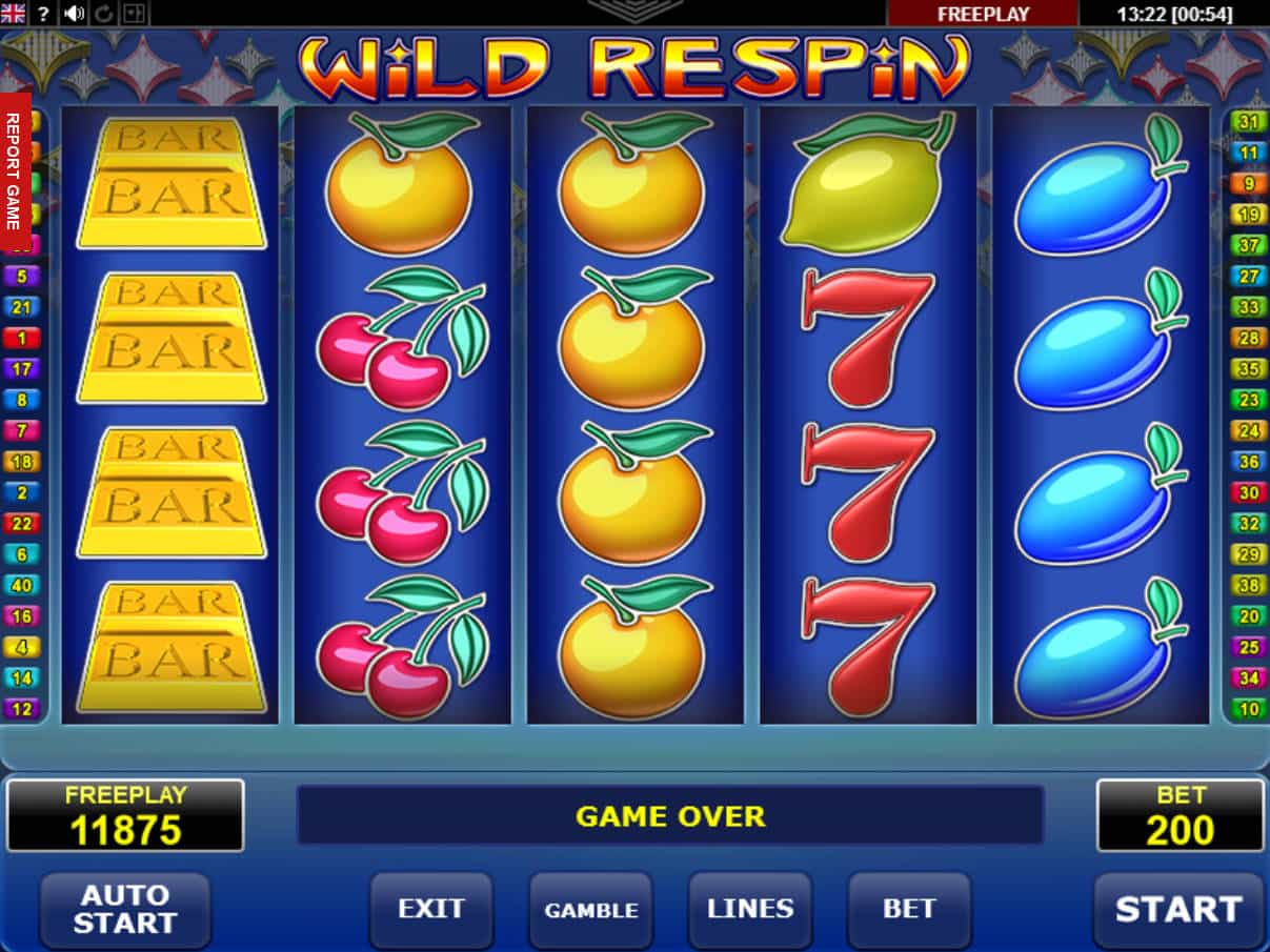 Spiele 40 Ultra Respin - Video Slots Online