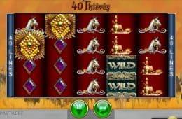 Spielautomat 40 Thieves zum Spaß spielen