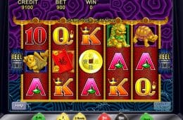 Spielautomat 5 Dragons zum Spaß spielen