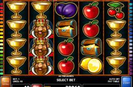 Spielautomat 40 Treasures zum Spaß spielen
