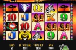Kostenloses Online Casino Automatenspiel 50 Lions