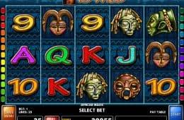Spielautomat African Magic zum Spaß spielen