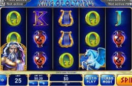 Kostenloser Online-Spielautomat Age of the Gods: King of Olympus