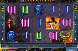 Ein Bild des Casino-Automatenspiels Amun's Book